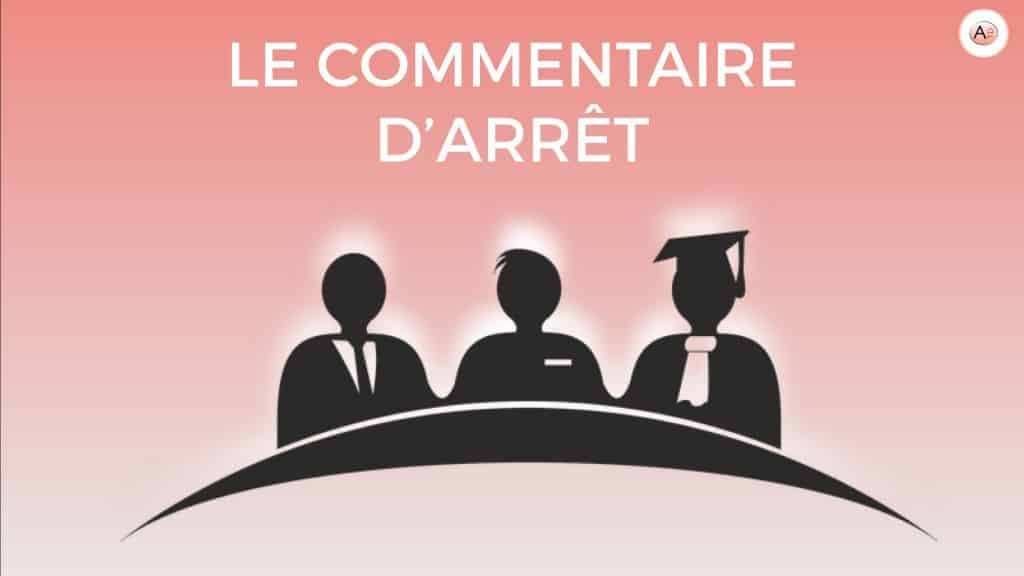 COMMENTAIRE DARRET METHODOLOGIE ILLUSTRATION