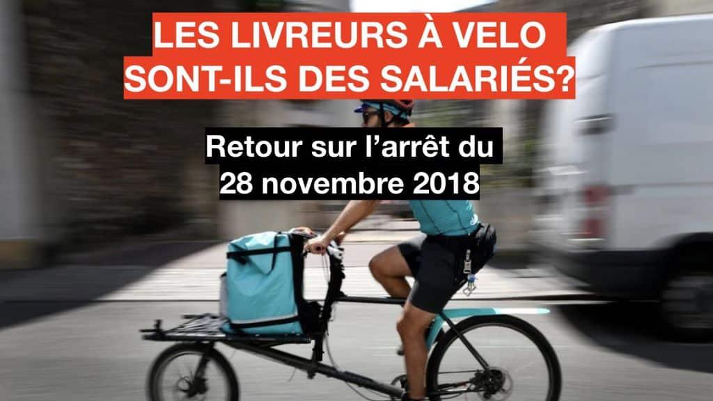 Les juges contre l'ubérisation du travail - Les livreurs à vélo sont ils des salariés?